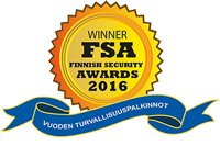 Finnish security awards 2016 -logo